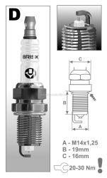 Svíčka DR15YP-1