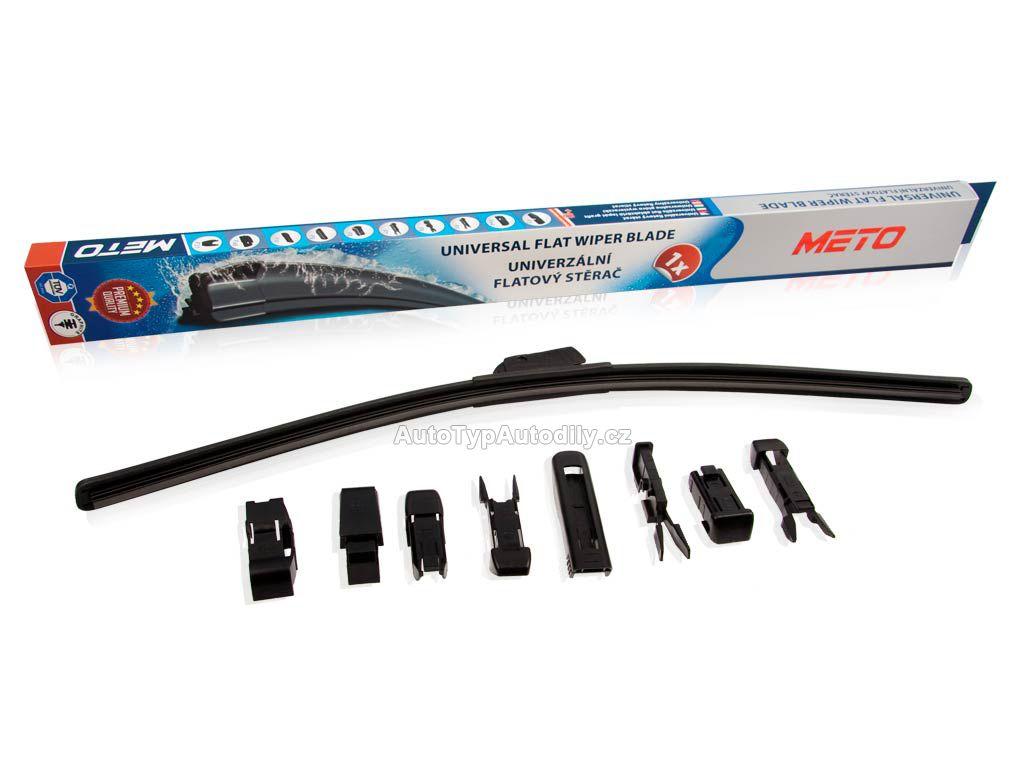 Stěrač pružný 375mm METO