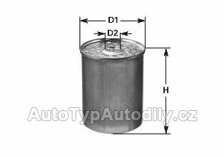 www.autotypautodily.cz DN-220 palivový filtr CLEAN FILTER