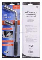 Klíč na kola 17-19/21-23 mm CN