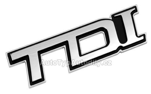 www.autotypautodily.cz Logo 3D emblém TDI Lampa - IT