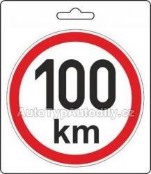 Samolepka rychlost 100km 200mm