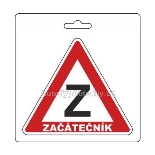 www.autotypautodily.cz Samolepka ZAČÁTEČNÍK (105 x 120 mm)