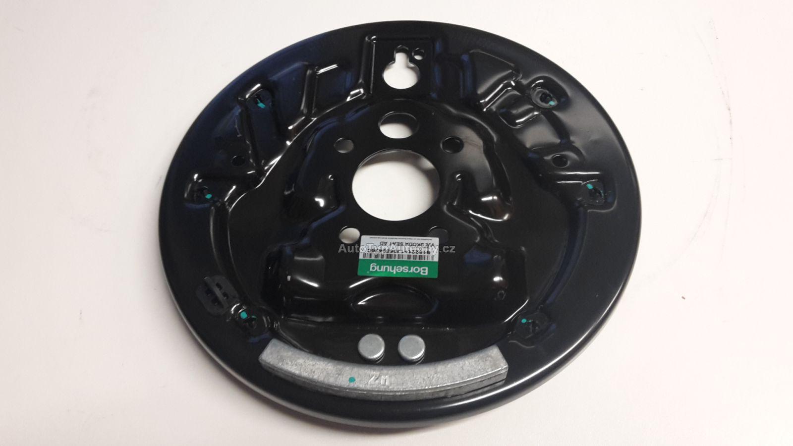Štít bubnové brzdy Octavia; Roomster pravý zadní: 1J0609426C BORSEHUNG