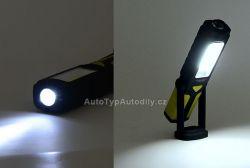 www.autotypautodily.cz Svítilna montážní LED 80/280lm 3xAA COMPASS