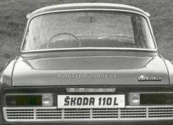Těsnění skla zadního Škoda 100, Škoda 1000MB se širokým sloupkem : 110 794 214 cz