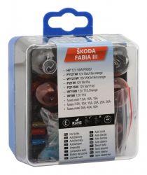 Žárovky servisní box ŠKODA FABIA III H7