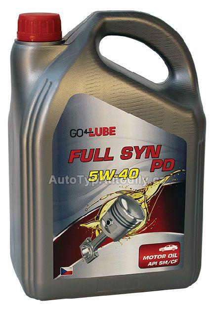 www.autotypautodily.cz Olej motorový PD 5W-40 504/507 Go4Lube SYNTETIC 1L