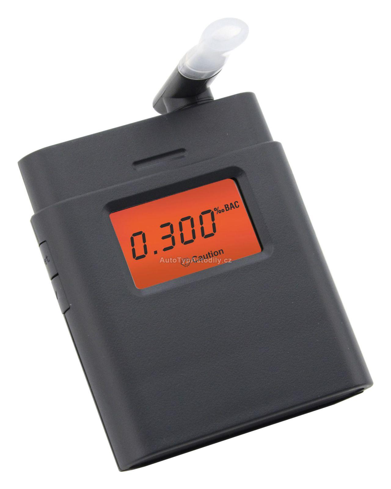 www.autotypautodily.cz Alkohol tester BLACK, digitální COMPASS