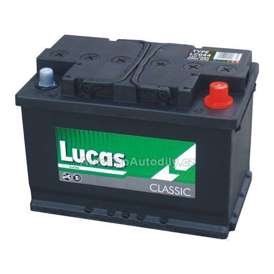Autobaterie LUCAS 12V/55Ah