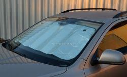 Clona sluneční na čelní sklo ALU 130 x 60cm COMPASS