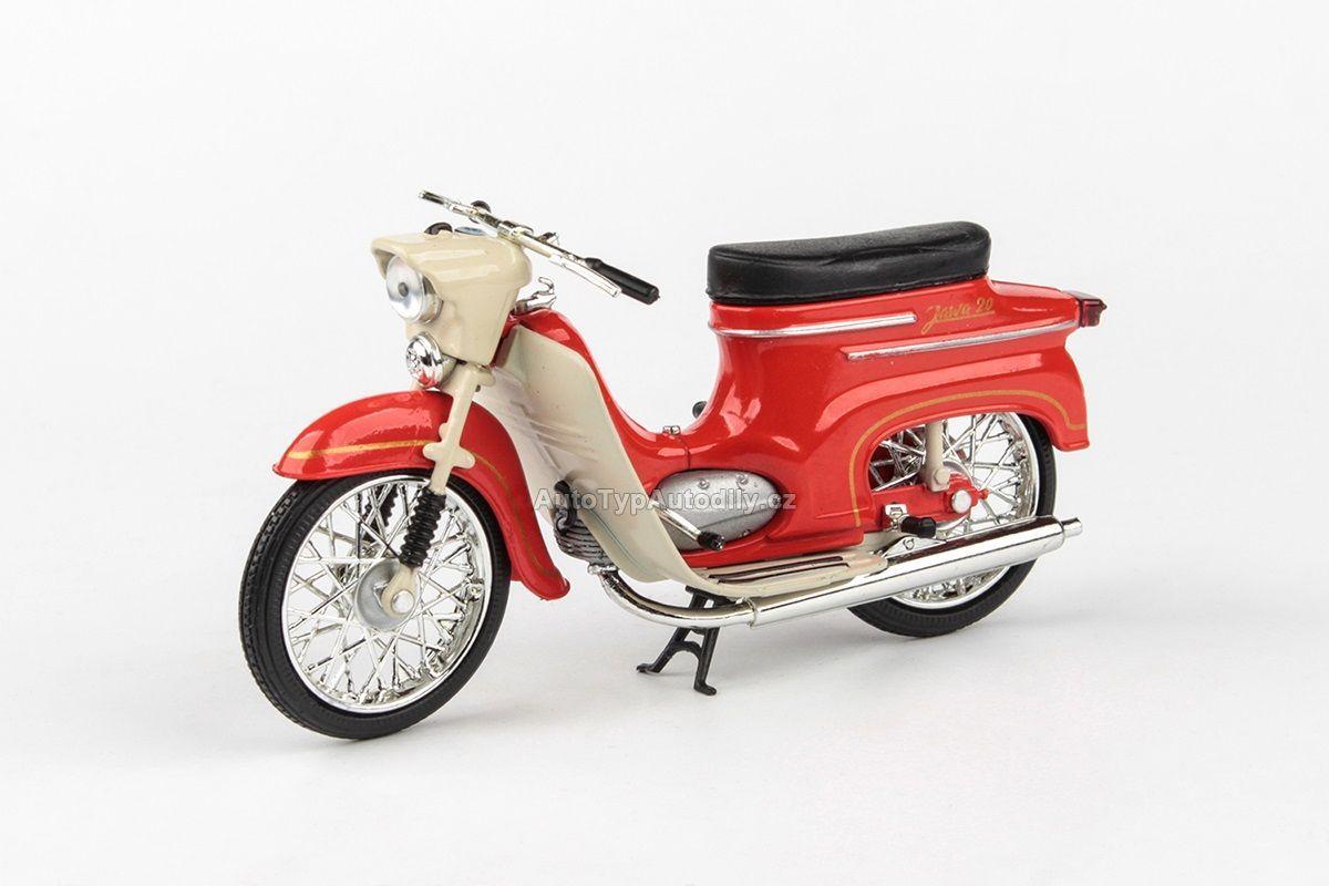 Jawa 50 Pionýr typ 20 (1967) 1:18 - Červená ABREX
