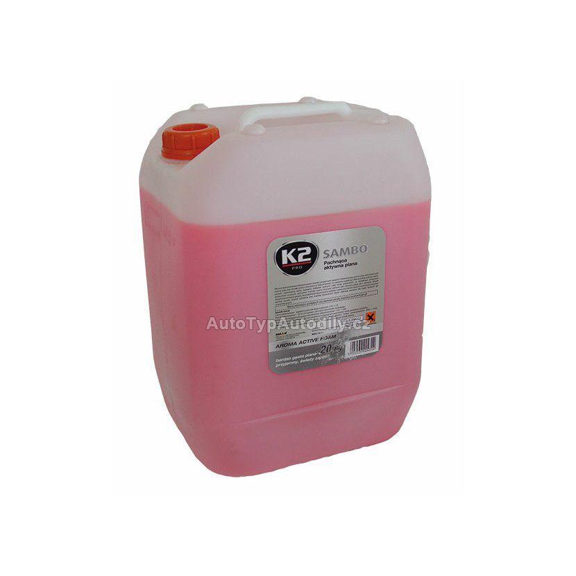 K2 SAMBO 20 kg - vysoce koncentrovaná aktivní pěna s příjemnou vůní K2 - PL