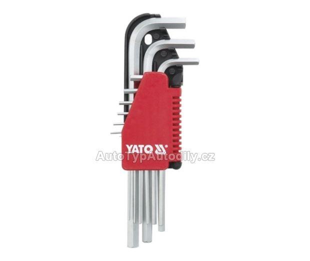 Sada klíčů imbus 9 ks delší COMPASS