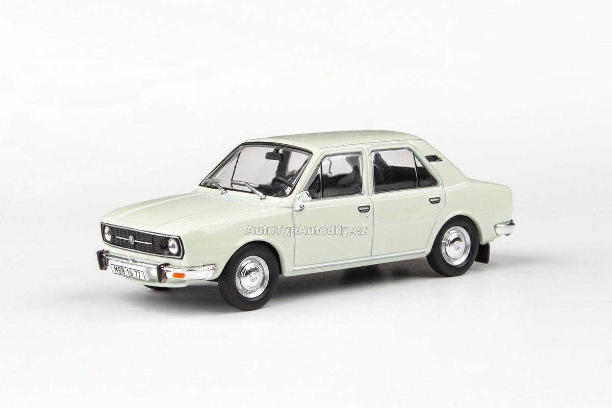 www.autotypautodily.cz Škoda 105L (1977) 1:43 - Bílá Ledová ABREX