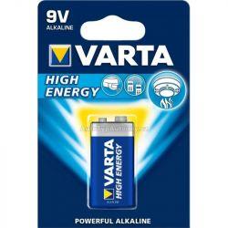 Baterie  9V 6LR61 Varta HIGH ENERGY - blok 9V