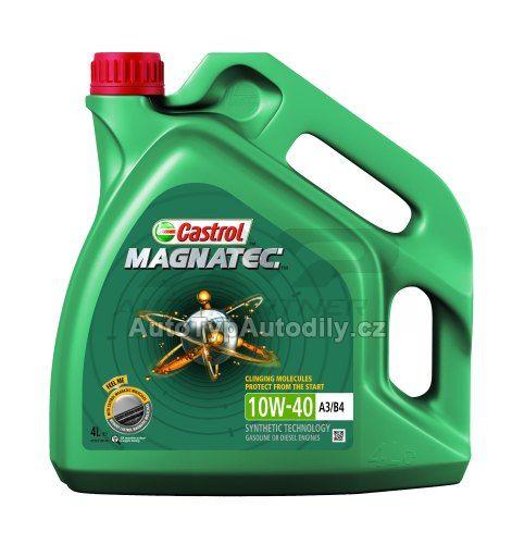 Olej motorový 10W-40 Magnatec A3/B4 CASTROL 4L: CAS105