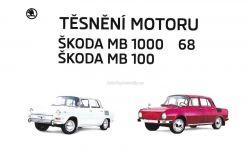 Sada těsnění na motor Škoda 100/1000MB 000-201