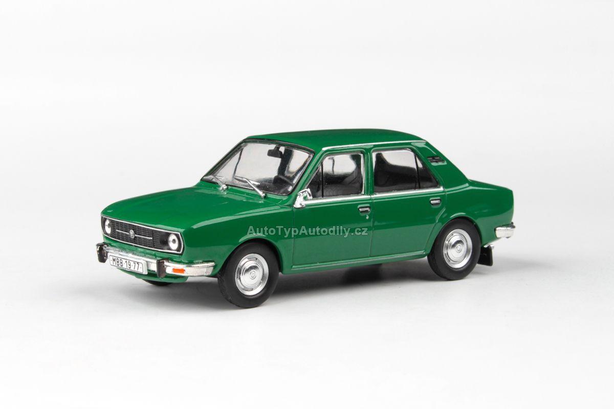 Škoda 105L (1977) 1:43 - Zelená Ostrá ABREX