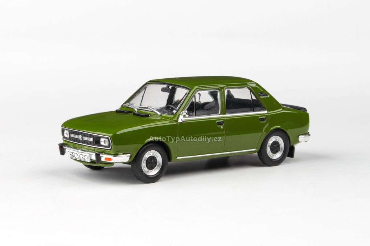 Škoda 120L (1982) 1:43 - Zelená Olivová ABREX