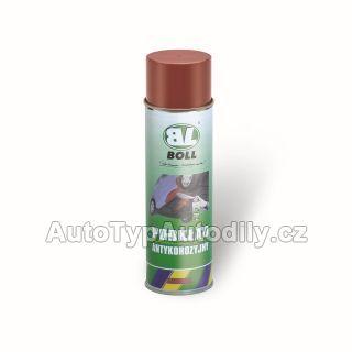 Barva základová antikorozní červenohnědá 400ml sprej BOLL
