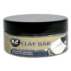 Hmota pro odstranění povrchových nečistot laku K2 CLAY BAR 200 g