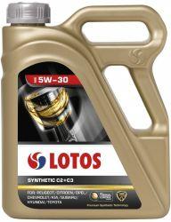 Motorový olej LOTOS SYNTHETIC C2+C3 5W30 balení 5 L