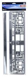 Podložka pod SPZ CHROM metallic COMPASS