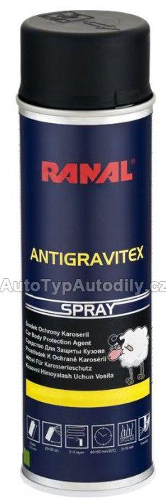 Prostředek k ochraně karoserie přelakovatelný bílý sprej 500ml Ranal