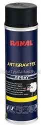 Prostředek k ochraně karoserie přelakovatelný černý sprej RANAL 500ml