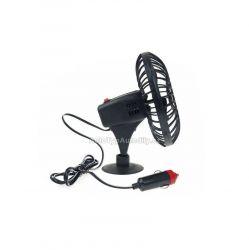 Ventilátor 12V plastový s přísavkou 14cm AMIO NEW 7/2020