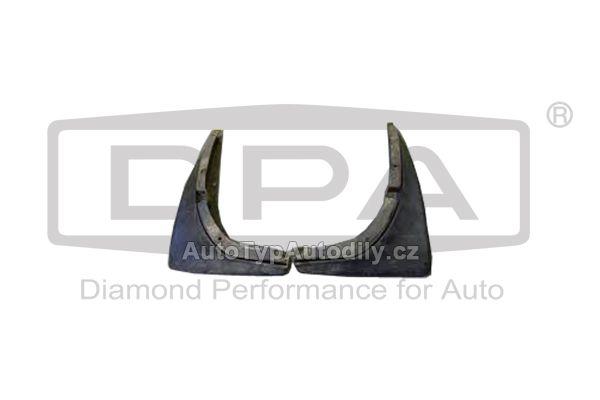 Zástěrky ZADNÍ Škoda Octavia2 sada . : KEA600001 CN