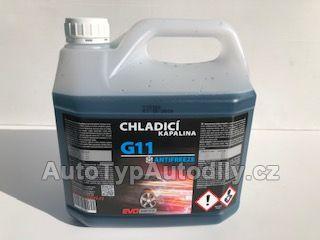 Antifreeze AL/G11/G48 1L modrý KONCENTRÁT EVODRIVE