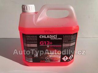 Antifreeze D Extra G12 3L ČERVENÁ KONCENTRÁT -80°C EVODRIVE