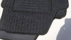 Koberce textilní Škoda FABIA II sada 4 kusy tmavě šedé CZ