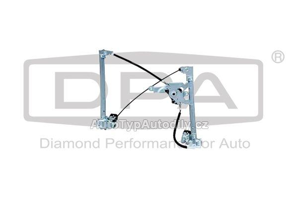 Stahovačka okna Škoda Octavia levá přední pro elekt. ovládánÍ DPA-CN: 1U0837461B