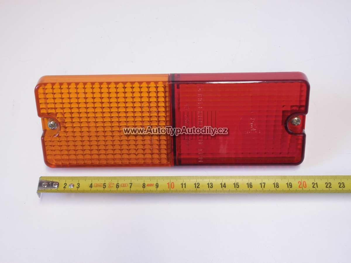 Sklo- kryt koncového světla 75x21cm: UEU1012