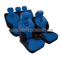 Autopotahy Kynox modro - černé