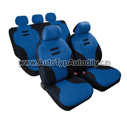www.autotypautodily.cz Autopotahy Kynox modro - černé Lampa