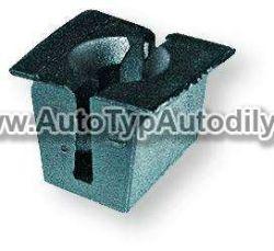 Nástrčná spona 4,8-5,5 mm otvor 10 x 13,5 mm Ford