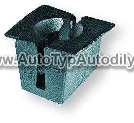www.autotypautodily.cz Nástrčná spona 4,8-5,5 mm otvor 10 x 13,5 mm Ford Berner
