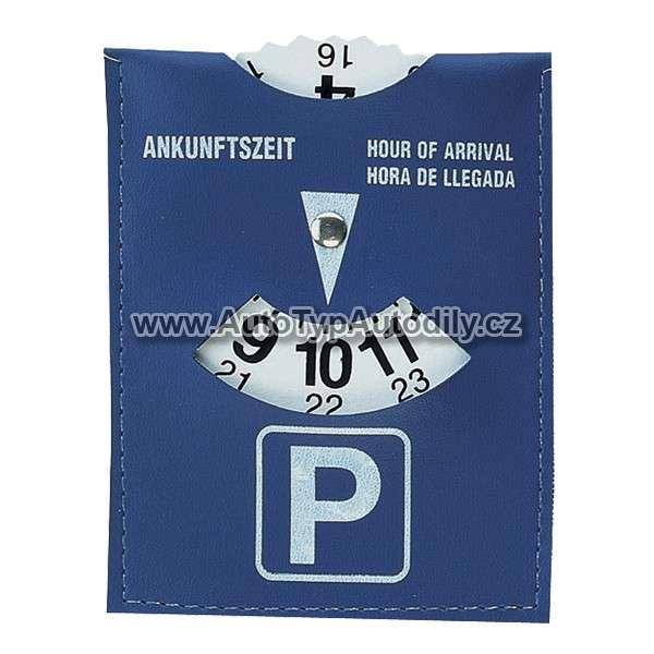 www.autotypautodily.cz Parkovací hodiny, modré Alpin