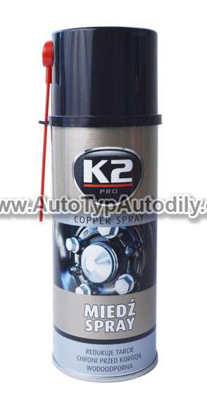 www.autotypautodily.cz K2 COPPER SPRAY 400 ml - měděný sprej K2 - PL