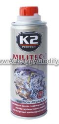 www.autotypautodily.cz K2 MILITEC-1 METAL CONDITIONER 250 ml - přísada do oleje K2 - PL