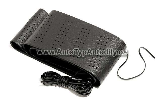 www.autotypautodily.cz Potah volantu - omotávka černý 37-39cm 06425 4CARS