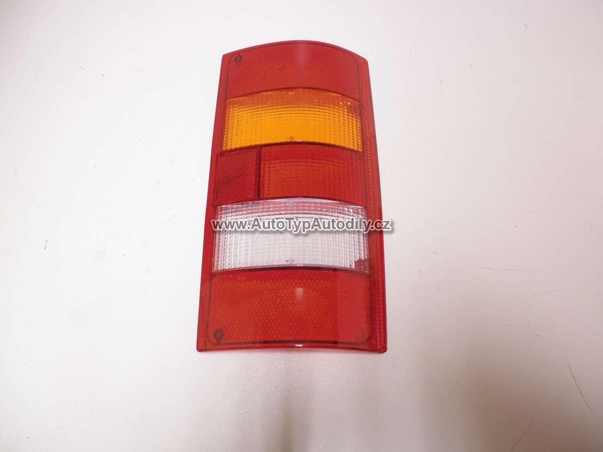 Sklo - kryt zadního světla Škoda Favorit Pick-up levé: 116924261 CN