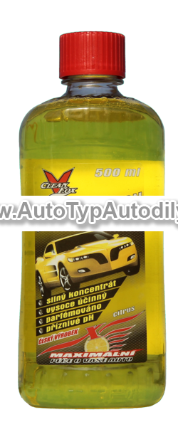 www.autotypautodily.cz Autošampon 500 ml premium CLEAN FOX