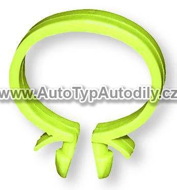 www.autotypautodily.cz Kabelová spona žlutá 22 mm Berner