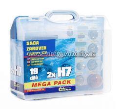 Sada žárovek 2xH7 Megapack  COMPASS: 08518