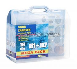 Sada žárovek H1+H7 Megapack : 08517